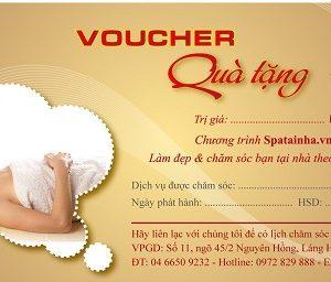 Thiết kế voucher đẹp, thu hút khách hàng