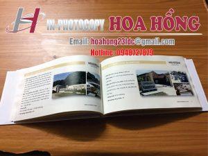 catalogue in màu đóng bìa cứng