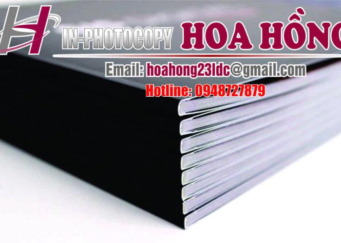 Đóng sách bằng keo nhiệt, keo gáy sách giá rẻ ở Hà Nội